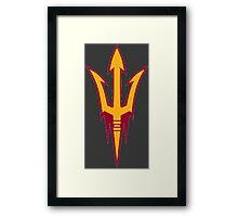 Arizona State University Sun Devils  Framed Print