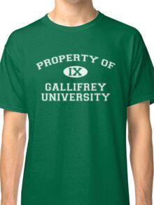 Property of Gallifrey University - 9th Doctor Classic T-Shirt