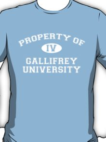 Property of Gallifrey University - 4th Doctor T-Shirt