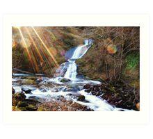Sweet Creek Falls Art Print