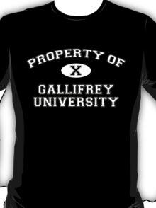 Property of Gallifrey University - 10th Doctor T-Shirt