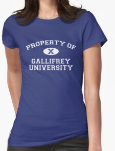 Property of Gallifrey University - 10th Doctor Womens T-Shirt