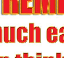 EXTREMISM Sticker