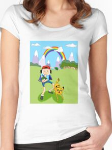 Pika-Jake! I choose you! Women's Fitted Scoop T-Shirt