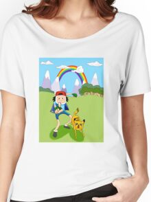 Pika-Jake! I choose you! Women's Relaxed Fit T-Shirt