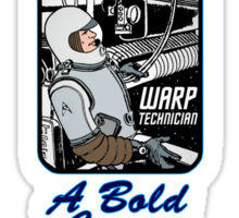 Join Starfleet: Engineers Wanted! Sticker