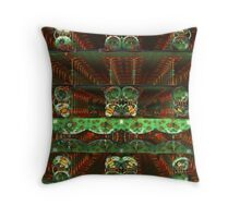 Earth Day In Tubeland Throw Pillow