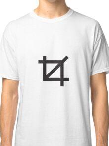 Crop Symbol Classic T-Shirt