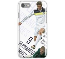 Fernando Torres - Chelsea v Barca - Champions League 2012 iPhone Case/Skin