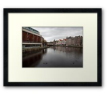 Water of Leith Framed Print