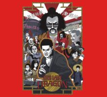 The Last Dragon Glow Poster Shirt Kids Tee