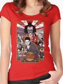 The Last Dragon Glow Poster Shirt Women's Fitted Scoop T-Shirt