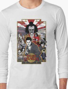 The Last Dragon Glow Poster Shirt Long Sleeve T-Shirt