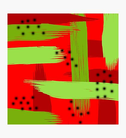Abstract fruit Photographic Print