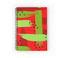Abstract fruit Spiral Notebook