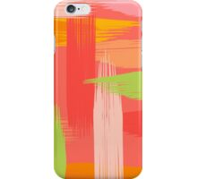 Abstract Grapefruit iPhone Case/Skin