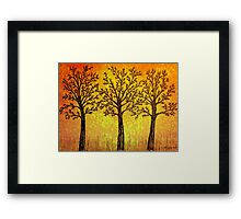 Beautiful Autumn Framed Print