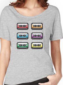 PIXEL CASSETTES  Women's Relaxed Fit T-Shirt