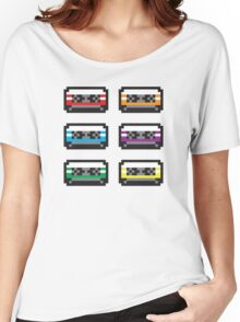 PIXEL CASSETTES  Women's Relaxed Fit T-Shirt