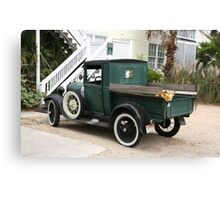 Old truck in SC Canvas Print