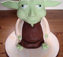nettyscakes.co.uk, yoda cake by Paul Sunderland
