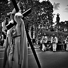 Semana Santa in Madrid - B & W  version by Merlina Capalini