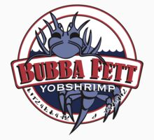 Bubba Fett's Yobshrimp Restaurant Kids Clothes