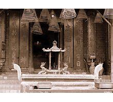 Sze Yup Temple Photographic Print