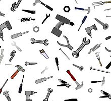 Hand Tool Montage by TinaGraphics