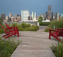 Three Red Chairs by d700