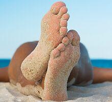 Man relaxing on the beach by MotHaiBaPhoto Dmitry & Olga