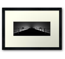 Saltburn-By-The-Sea Pier Framed Print