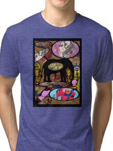 Images of Elephants Tee Tri-blend T-Shirt