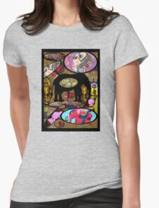 Images of Elephants Tee Womens Fitted T-Shirt