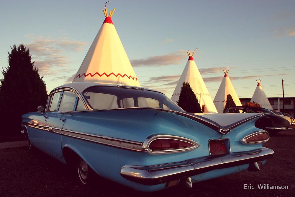 Wigwam Motel by Eric  Williamson