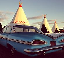 Wigwam Motel by Eric  Williamson