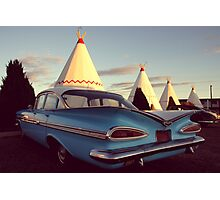 Wigwam Motel Photographic Print