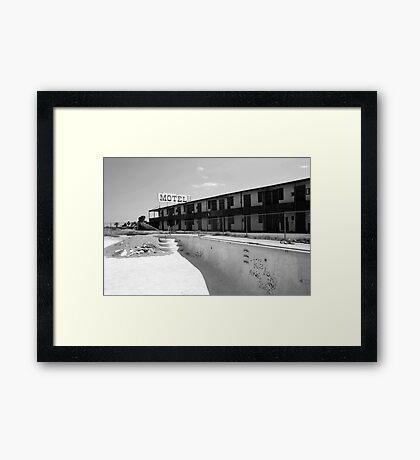 Motel Framed Print