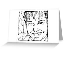 AuntDot has been Scribbled! Greeting Card