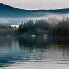 Mist On Shawnigan Lake BC Canada by deze