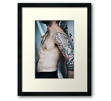 Jeff Torso Framed Print