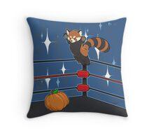 Panda Bodyslam Throw Pillow