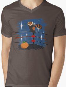Panda Bodyslam Mens V-Neck T-Shirt
