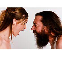 Man vs. Woman Photographic Print
