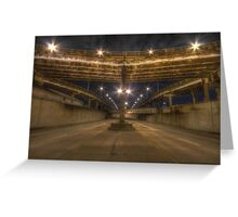 airline highway Greeting Card
