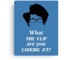 Maurice Moss - What the Flip Canvas Print