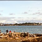 Day At The Beach - Esquimalt Lagoon BC Canada by deze