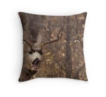 Bored Muley Throw Pillow