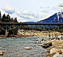 Bridge over Skykomish by Debbie Roelle