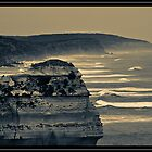 Rolling Waves - Gibson's Steps, Vic by onehappycamper